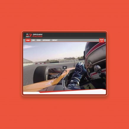 Dream Racing Website