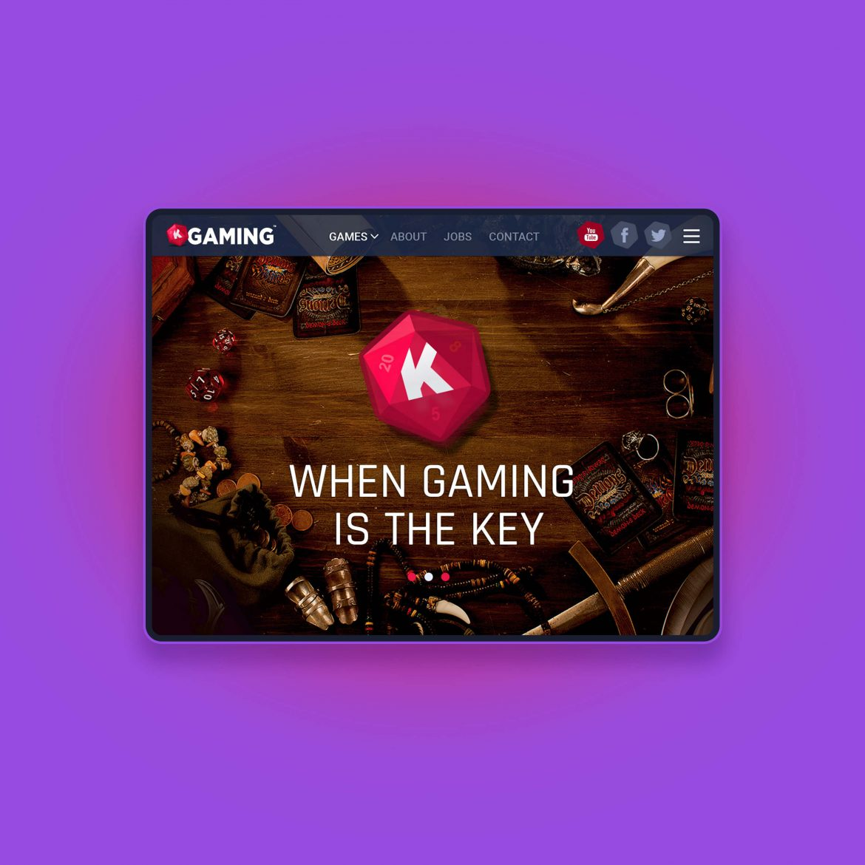 K-Gaming game development studio
